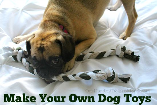 Make Your Own Rope Tug Toy for Dogs How to Avoid Being Hangry Mavis ...