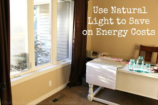 Save on Your Energy Bill By Using Natural Light