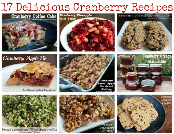 17 Delicious Cranberry Recipes