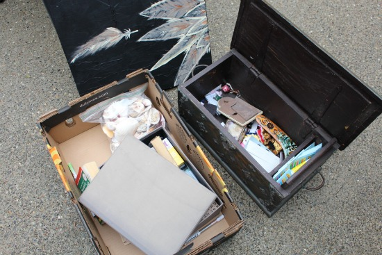 Getting Rid of 1,000 Things – Rubber Stamps, a Soldering Iron, Seashells, Smencils and More