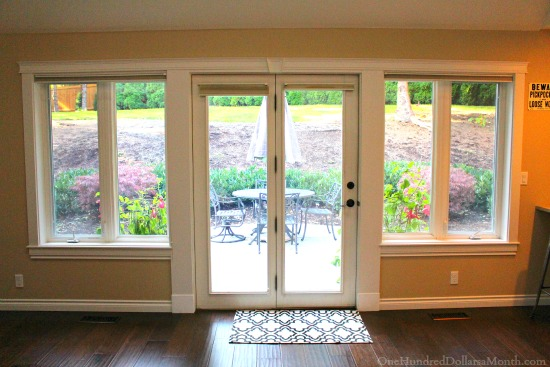 Window treatments for patio doors curtains blinds for Patio doors with side windows