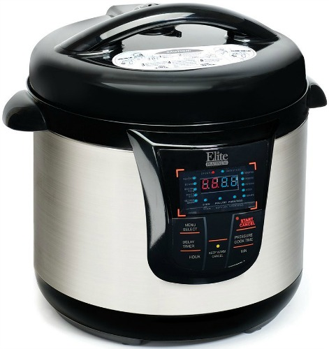 elite platinum pressure cooker manual