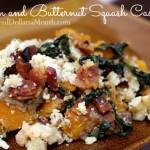 Bacon and Butternut Squash Casserole