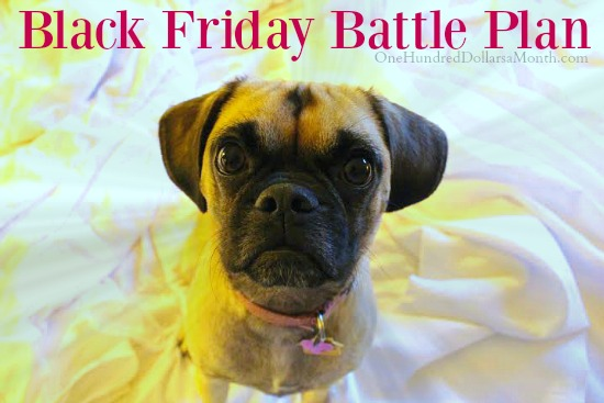 Black Friday Battle Plan