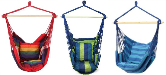 Club Fun Hanging Rope Chair
