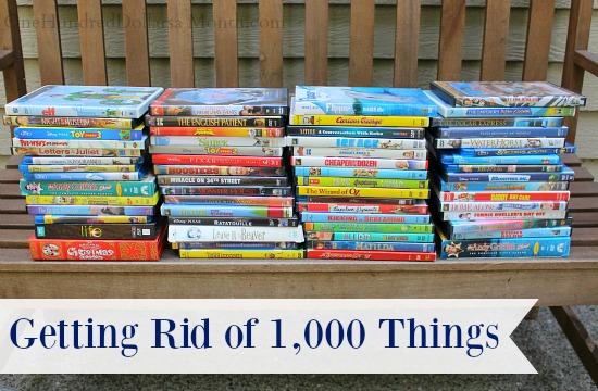 Getting Rid of 1,000 Things – DVD's