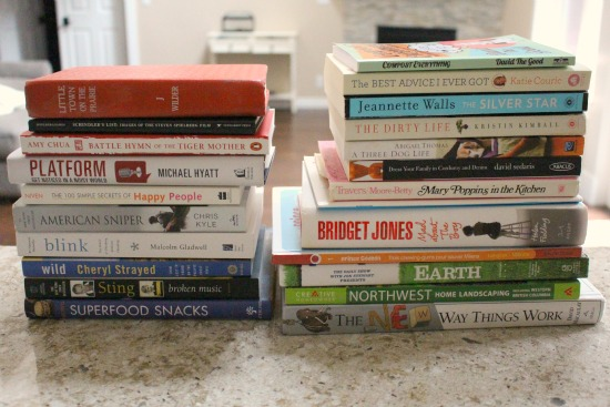 Getting Rid of 1,000 Things – Used Books