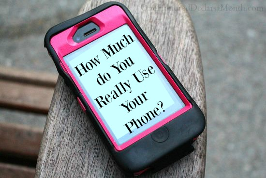 How Much do You Really Use Your Phone?