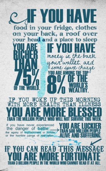 25 Things/Reasons to be Thankful for in 2015