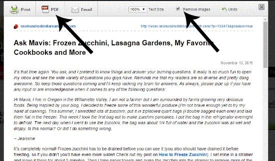 Ask Mavis: Frozen Zucchini, Lasagna Gardens, My Favorite Cookbooks and More