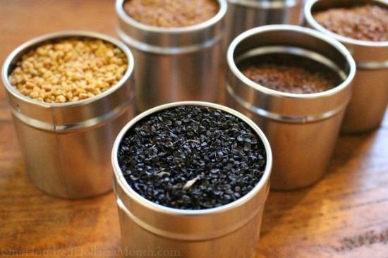 seed tins
