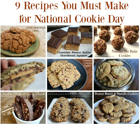 9 Recipes You Must Make for National Cookie Day