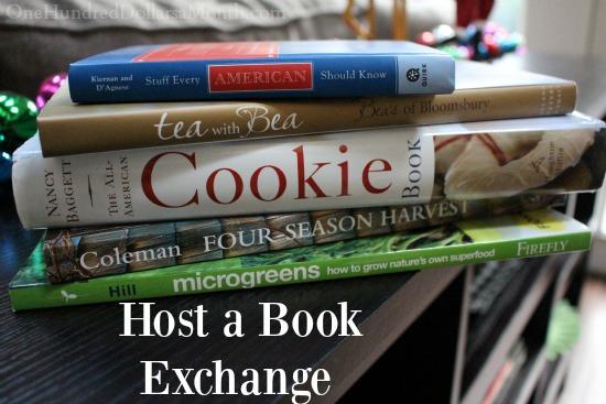 Christmas Gift Idea – Host a Book Exchange