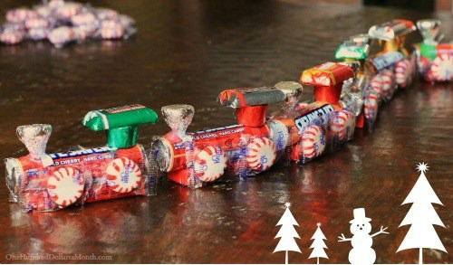 Stocking Stuffer Idea – DIY Christmas Candy Train