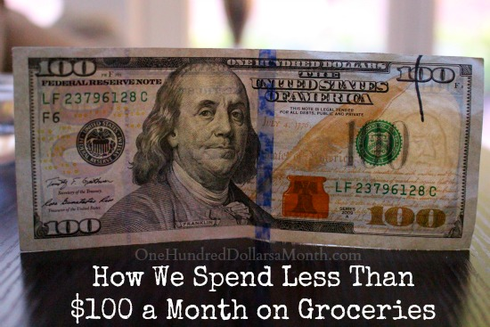 How We Spend Less Than $100 a Month on Groceries Week 1 of 52