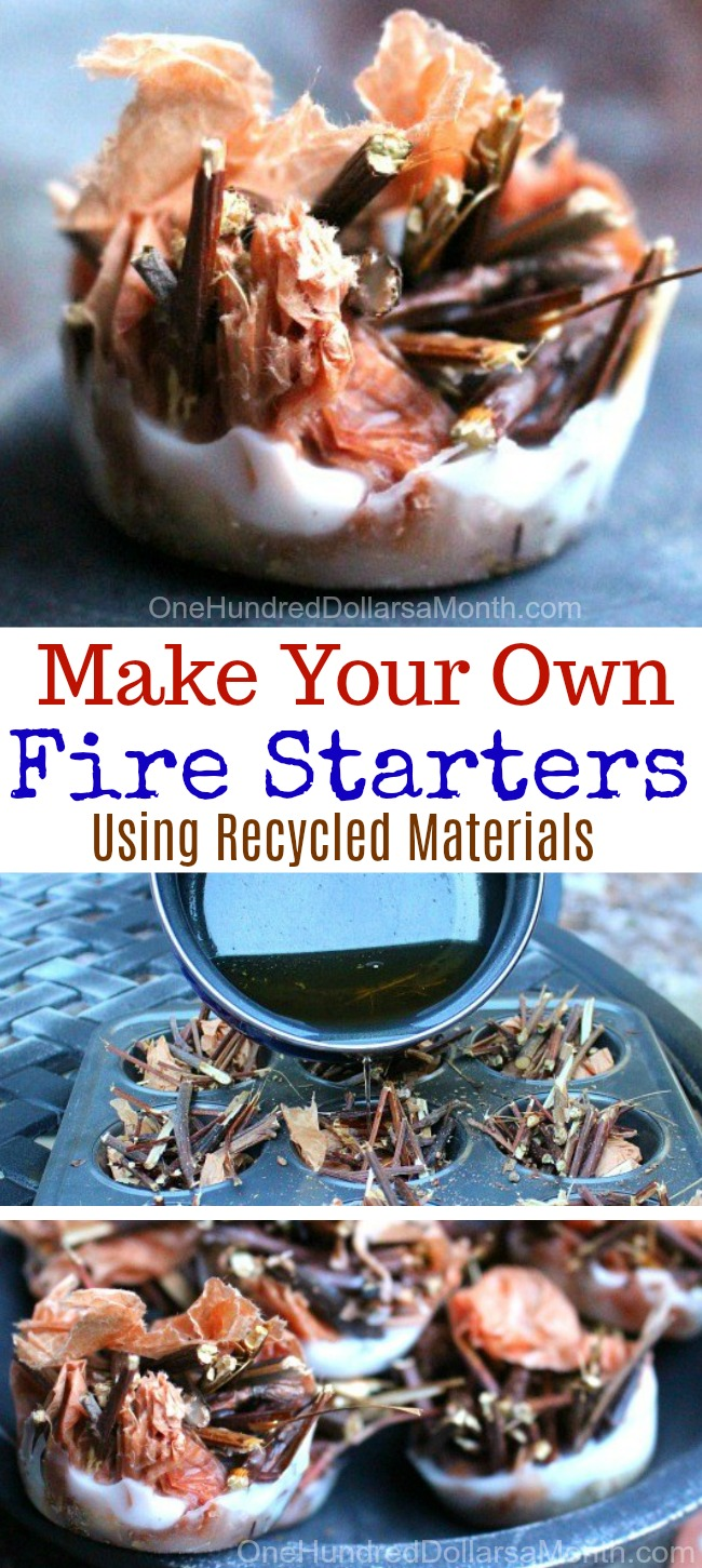Make Your Own Fire Starters for Free
