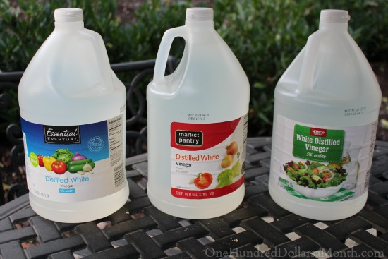 You Might Be a Tightwad If…You Return 2 Bottles of Vinegar Because You Found a Better Price