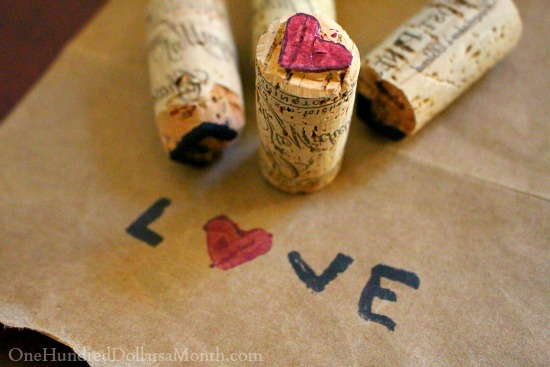 DIY Easy Wine Cork Stamps