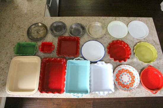 Getting Rid of 1,000 Things – Casserole Dishes and Pie Plates