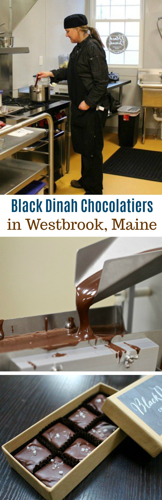 Our Visit to Black Dinah Chocolatiers in Westbrook, Maine