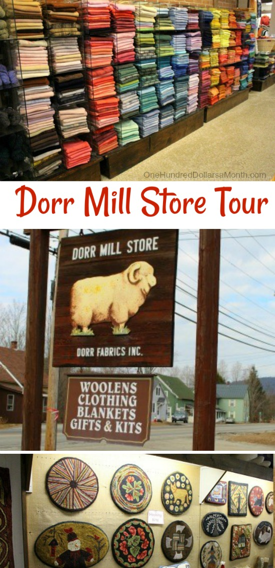 The Dorr Mill Store … A Rug Hooker's Paradise