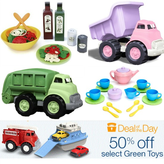 Green Toys, Sports Watches, Freezer Meals, Utility Carts and More