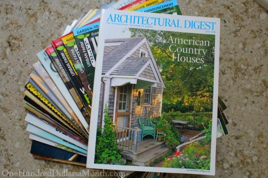 Getting Rid of 1,000 Things – Magazines