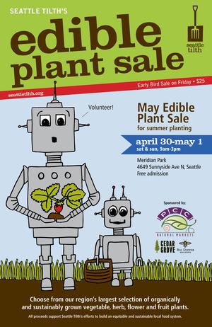Seattle Tilth Spring Plant Sale Offers Large Organic Selection