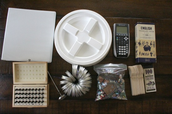 Getting Rid of 1,000 Things – Gamma Lids, Scientific Calculator, Frames and More