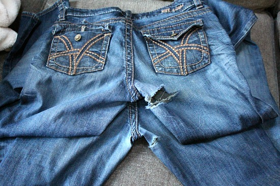 Torn Jeans, Rationing Milk, Growing Sprouts and Continuing on My Almost Zero Waste Journey