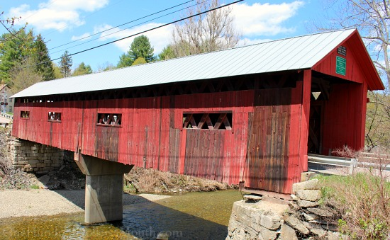 3 Covered Bridges in Northfield, Vermont + Falls General Store