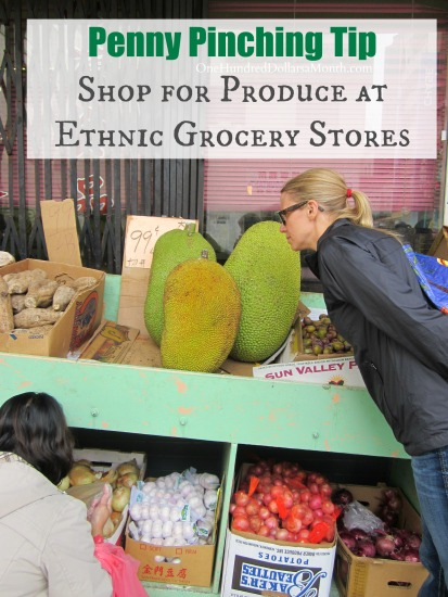 Penny Pinching Tip – Shop for Produce at Ethnic Grocery Stores