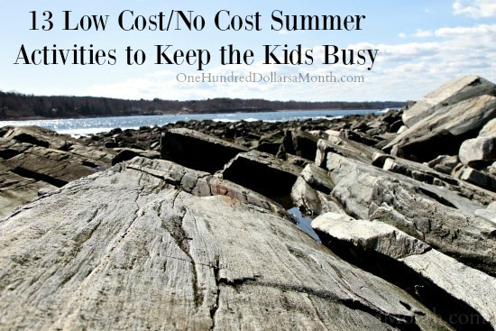 13 Low Cost/No Cost Summer Activities to Keep the Kids Busy