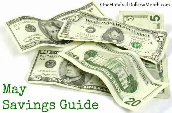 May Monthly Savings Guide – What's on Sale and What's in Season
