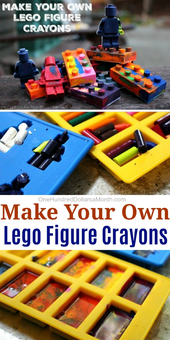 DIY Gift Idea – Lego Figure Crayons