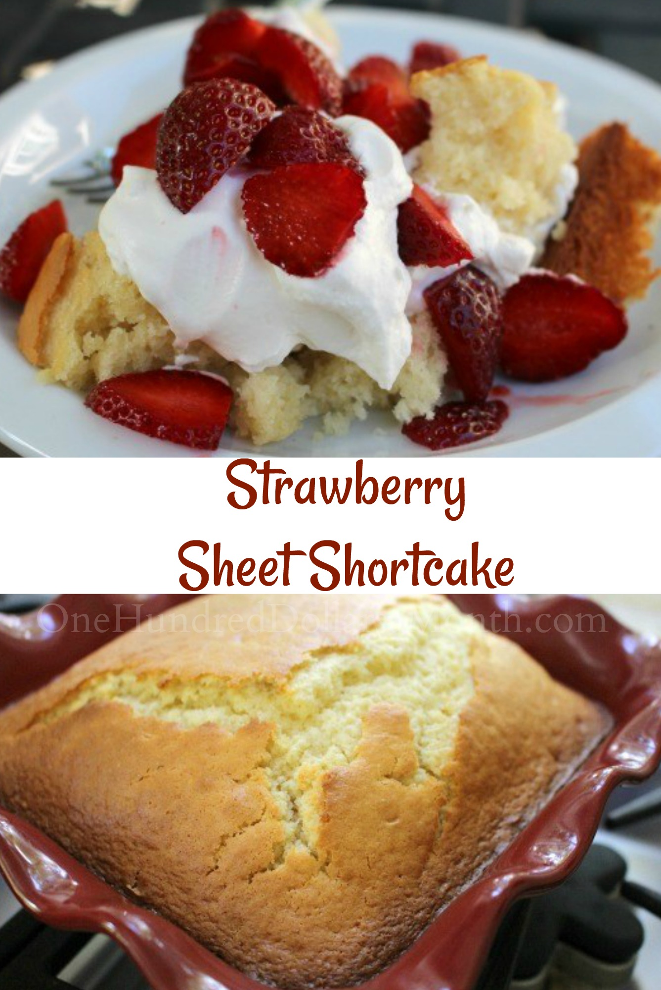Strawberry Sheet Shortcake