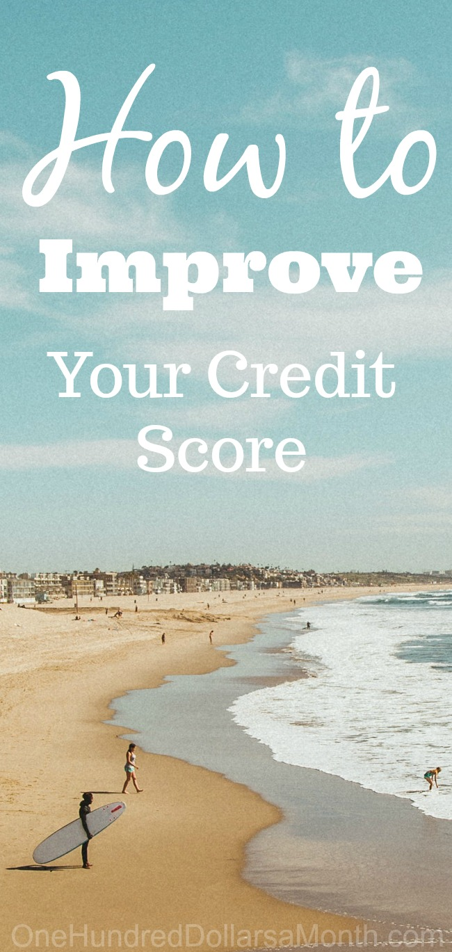 52 Ways to Save $100 a Month | Improve Your Credit Score {Week 25 of 52}