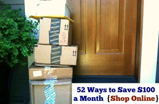 52 Ways to Save $100 a Month | Shop Online {Week 26 of 52}