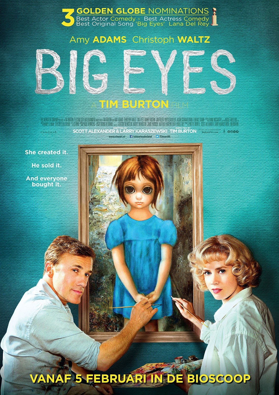 Friday Night at the Movies – Big Eyes
