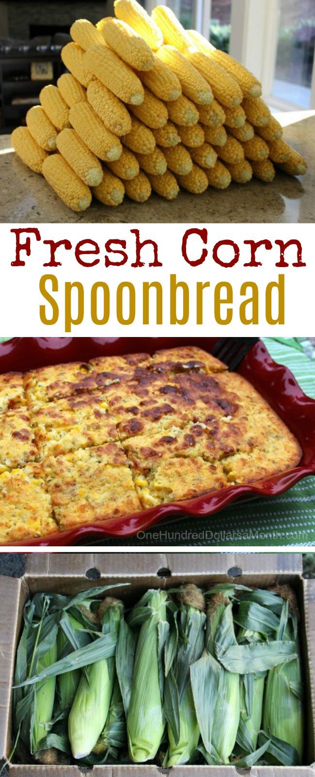 Fresh Corn Spoonbread