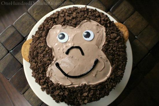 A Birthday Cake for Monkey Boy
