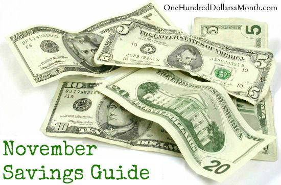 November Monthly Savings Guide – What's on Sale and What's in Season