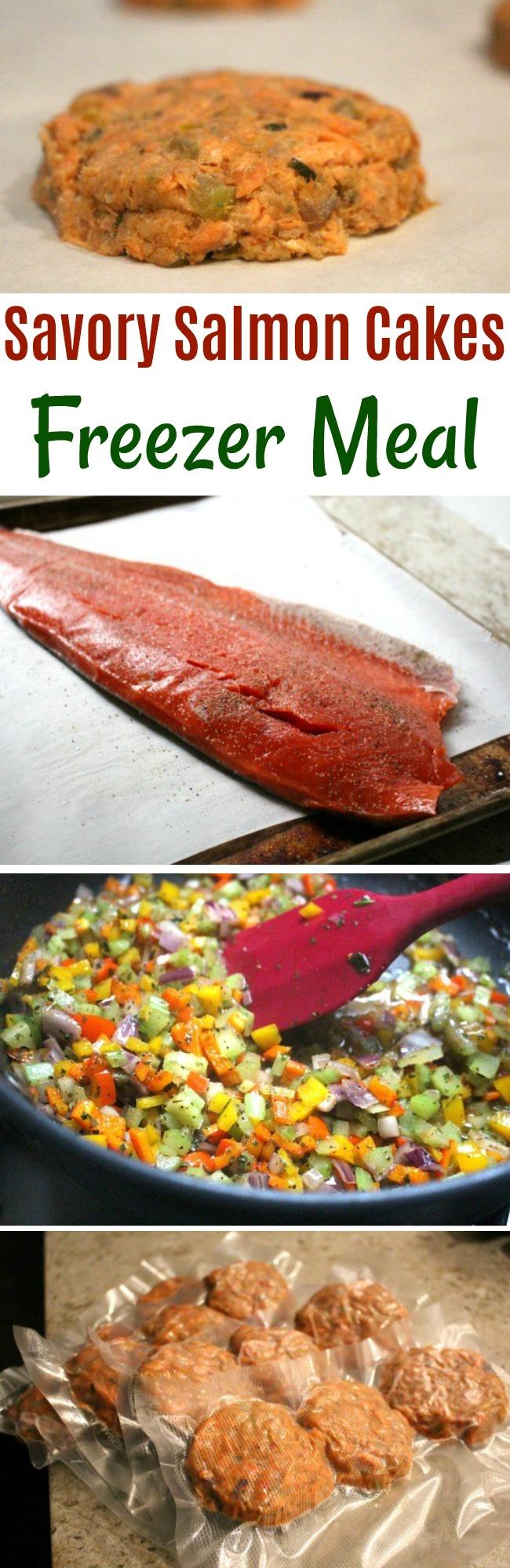 Savory Salmon Cakes