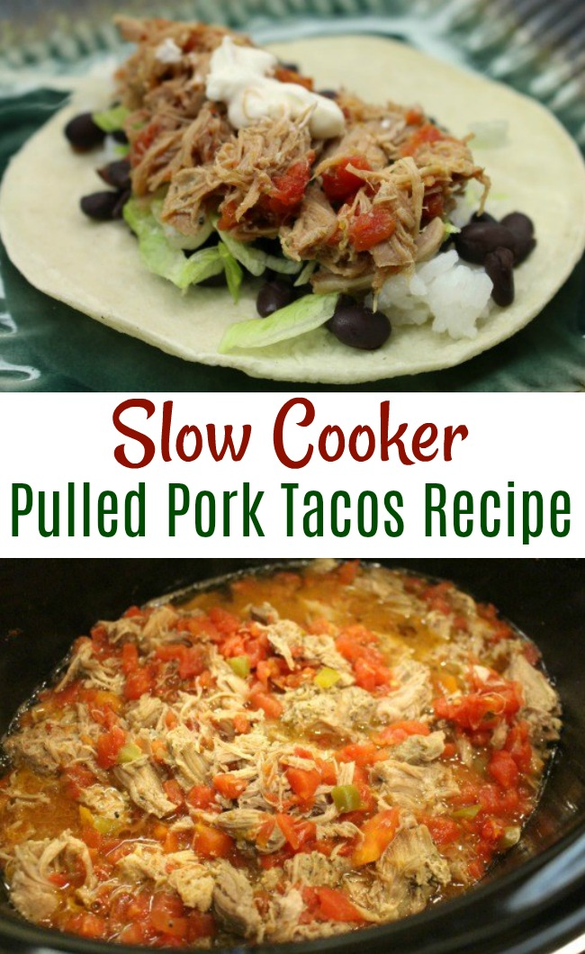 Crock Pot Meal – Mrs. Hillbillys Pulled Pork Tacos Recipe