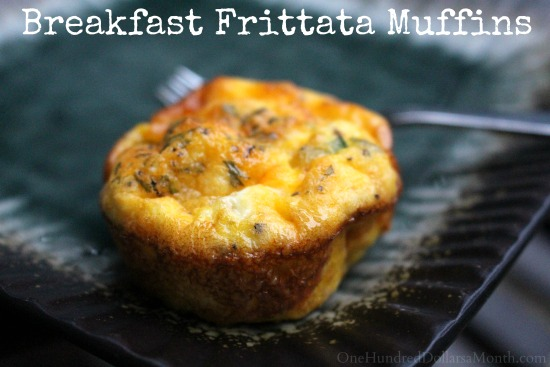 Mrs. HB's Make Ahead Breakfast Frittata Muffins