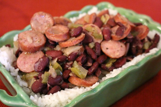 Louisiana Red Beans and Rice