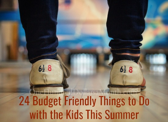 24 Budget Friendly Things to Do with the Kids This Summer