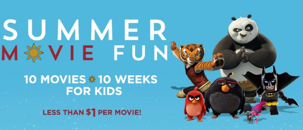 2017 Discounted Summer Movie Programs for Kids