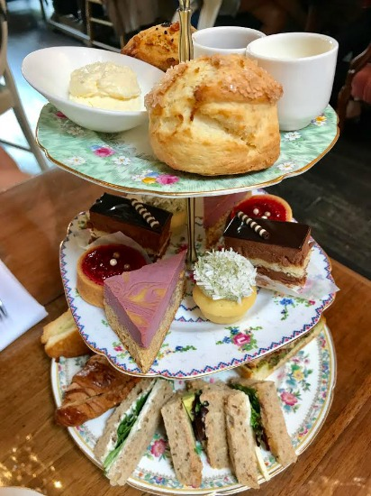 High Tea at Neverland Tea Salon in Vancouver, British Columbia