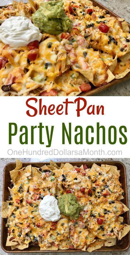 Sheet Pan Party Nachos